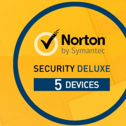 Norton Security 2017 Deluxe 3.0 1 Użytkownik, 5 Urządzeń Odnowienie