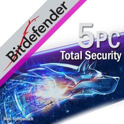 Bitdefender Total Security 5PC/3Lata Odnowienie