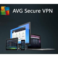 AVG Secure VPN 2018 1 Urządzenie / 12 miesięcy