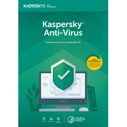 Kaspersky AntiVirus 5PC/2Lata