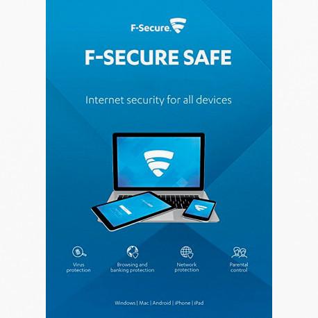 F-Secure SAFE Internet Security 2018 3 PC 1 ROK