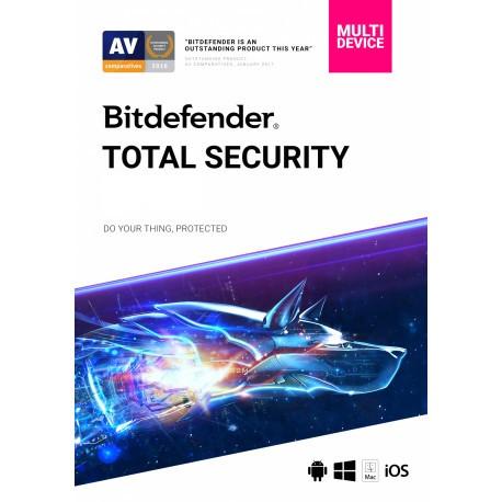 Bitdefender Total Security Family Pack - 2 Lata