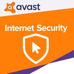 AVAST INTERNET SECURITY 2018 1 PC /2 Lata
