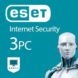 ESET Internet Security 3 PC 1 ROK Odnowienie