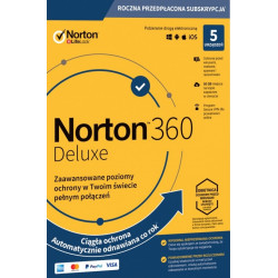 NORTON 360 STANDARD 5 PC 1 ROK