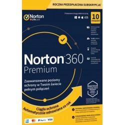 NORTON 360 STANDARD 10 PC 1 ROK