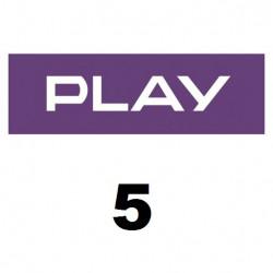 Doładowanie Play 5 zł