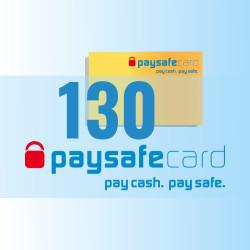 PaySafeCard 130 zł ( 100 + 30 ) PSC