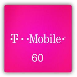 Doładowanie T-Mobile 60 zł