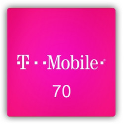 Doładowanie T-Mobile 70 zł