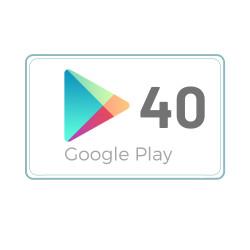 Kod Podarunkowy Google Play 40 zł