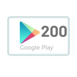 Kod Podarunkowy Google Play 200 zł